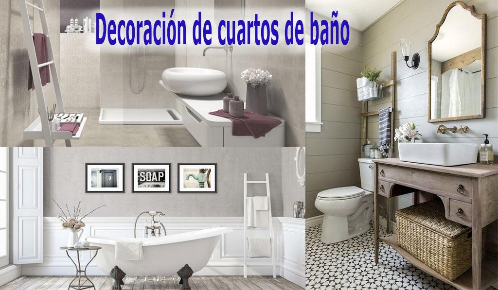 Decoración del Cuarto de Baño - Ideas 2019【MUEBLESDEBANO.ORG】