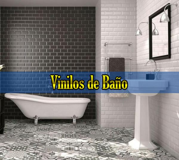 Vinilos de baño
